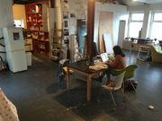 Bright Room in great Hackney Wick Warehouse Flatshare SHORT LET